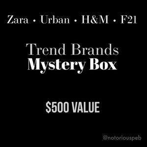 $500 Mystery Box 📦 Zara • Urban • H&M • F21